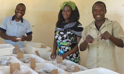 The staff at Embangweni clinic